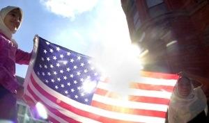 American and Muslim