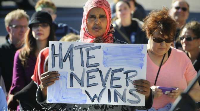 What the Hate Rallies Against Islam Mean To Me